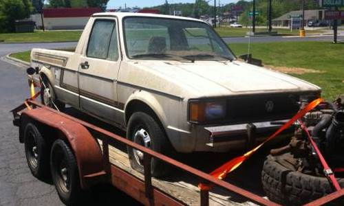 1981 Volkswagen (VW) Rabbit Pickup Truck For Sale Dalton ...