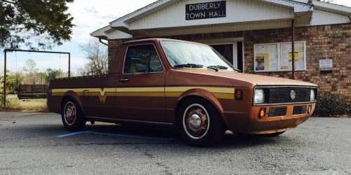 1980 vw caddy rabbit pickup diesel for sale in haughton louisiana. Black Bedroom Furniture Sets. Home Design Ideas
