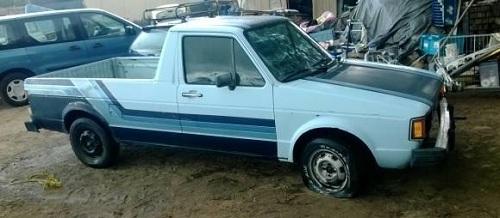 1982 volkswagen caddy mk1 vw pickup truck for sale inland empire ca. Black Bedroom Furniture Sets. Home Design Ideas