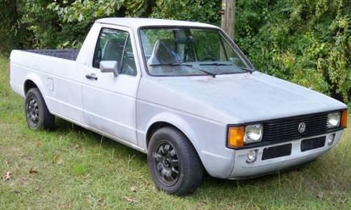 1982 vw rabbit caddy pickup for sale in fayetteville north carolina. Black Bedroom Furniture Sets. Home Design Ideas