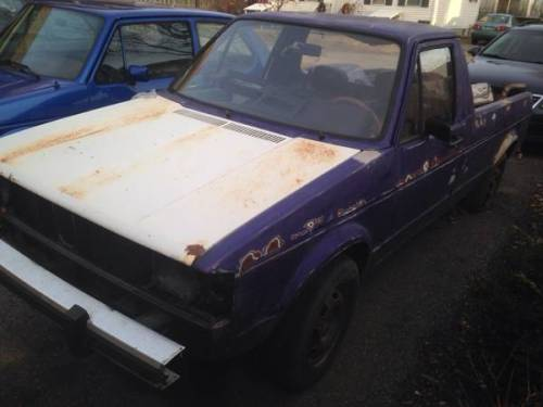 1982 vw rabbit pickup truck for sale in rochester new hampshire. Black Bedroom Furniture Sets. Home Design Ideas