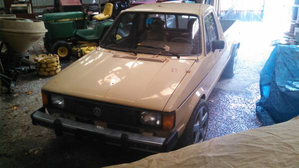 1982 volkswagen rabbit 1 9 aaz diesel pickup truck for sale mason nh. Black Bedroom Furniture Sets. Home Design Ideas