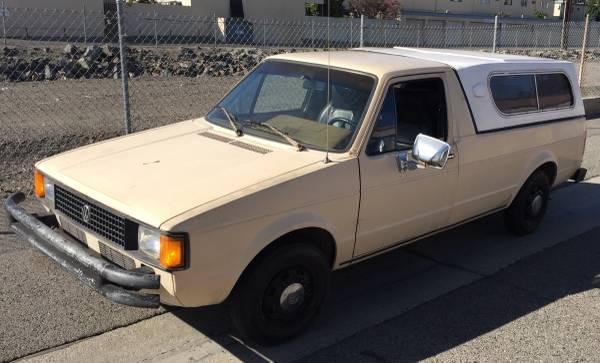 1981 Volkswagen Rabbit 5 Speed Pickup Truck For Sale ...