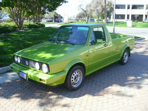 1981 Volkswagen Rabbit V4 5 Speed Pickup Truck For Sale ...
