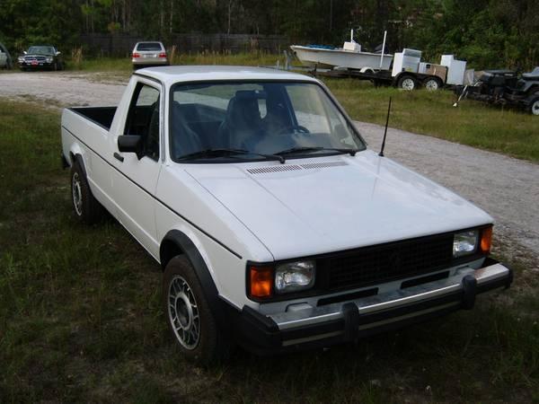 1981 Volkswagen Rabbit 1.6L 5spd Pickup Truck For Sale ...