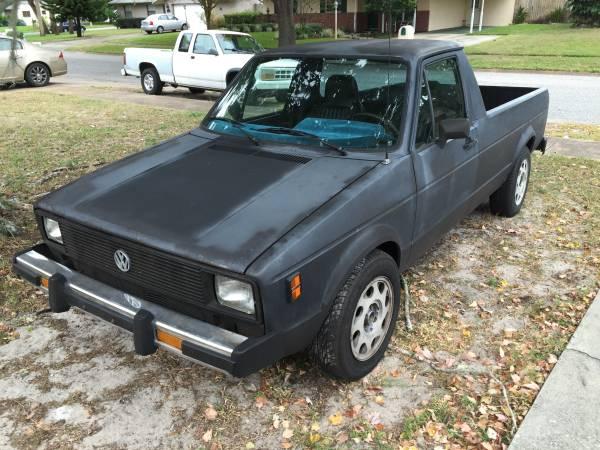 1980 Volkswagen Rabbit Caddy V4 Pickup Truck For Sale ...