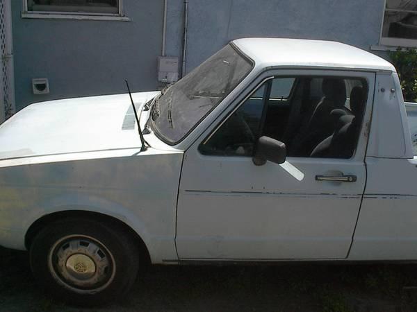 1982 Volkswagen Rabbit V4 Manual Pickup Truck For Sale ...