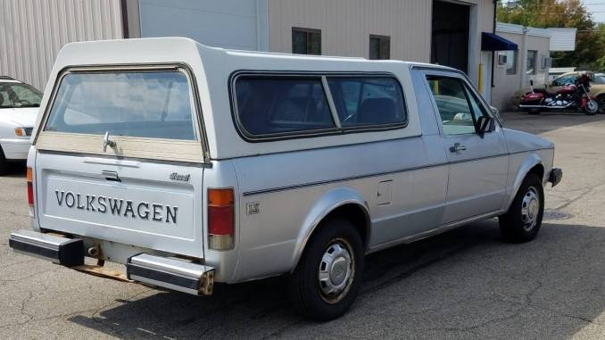 1981 VW Truck For Sale - Volkswagen Rabbit (Caddy) Pickup Classifieds