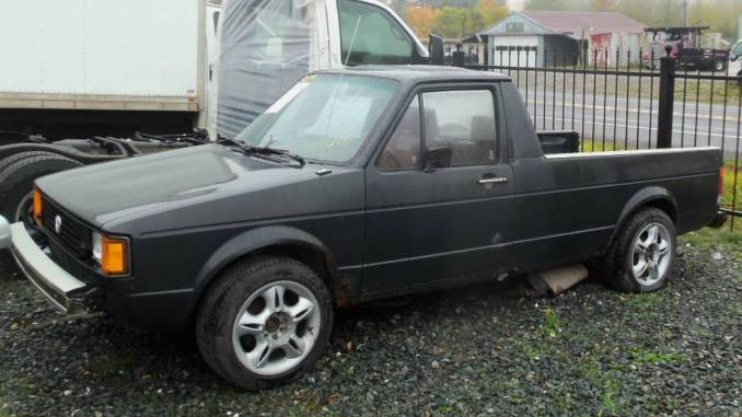 1983 vw truck for sale volkswagen rabbit caddy pickup classifieds. Black Bedroom Furniture Sets. Home Design Ideas