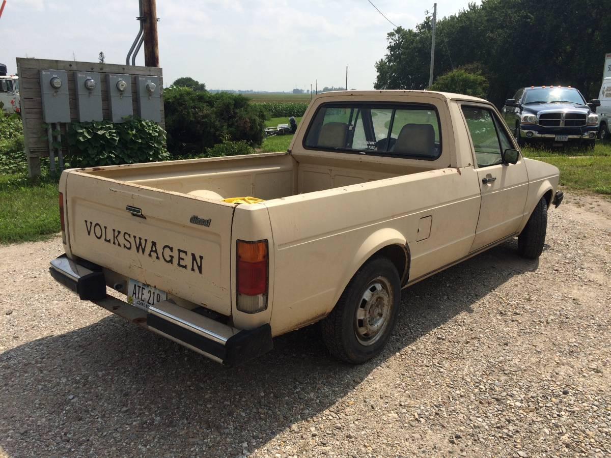 1981 Volkswagen Rabbit 5spd Diesel Pickup For Sale in ...