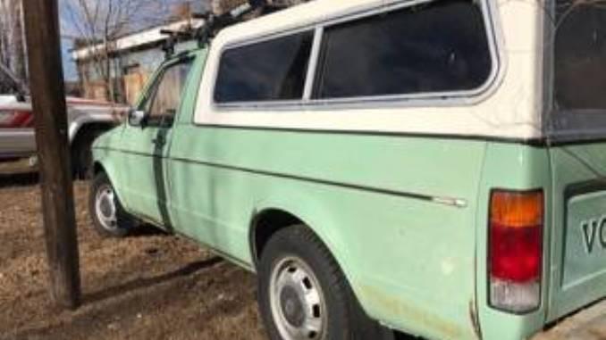 1980 VW Rabbit 4spd Manual Pickup Truck For Sale in ...