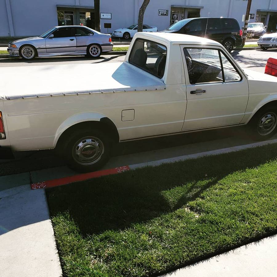 1982 Volkswagen Rabbit 4cyl Manual Pickup Truck For Sale ...