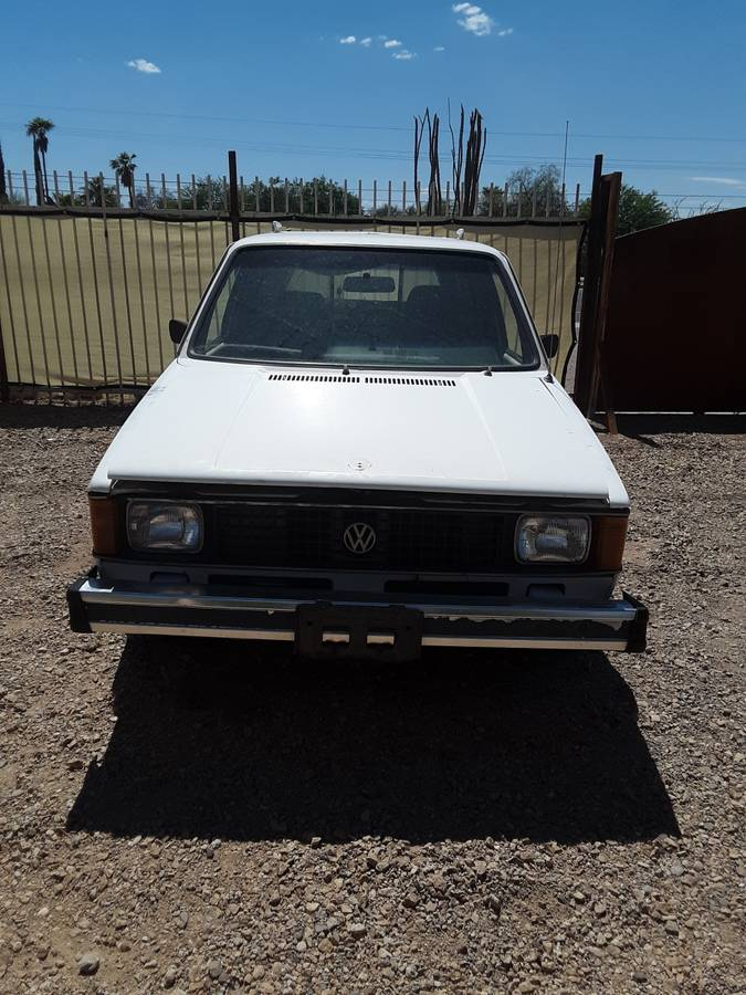1981 Volkswagen Rabbit 4cyl Manual Pickup Truck For Sale ...