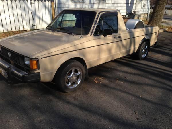 1982 Volkswagen Rabbit 5 speed Pickup Truck For Sale ...