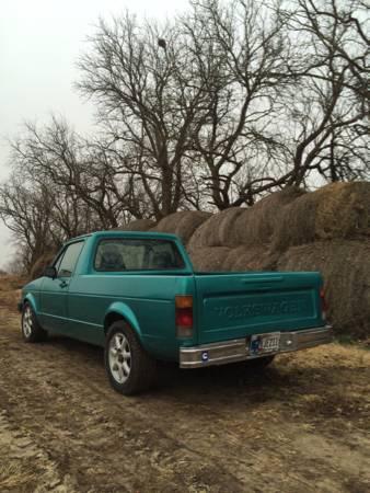 1981 Volkswagen Rabbit Turbo Diesel Pickup Truck For Sale ...
