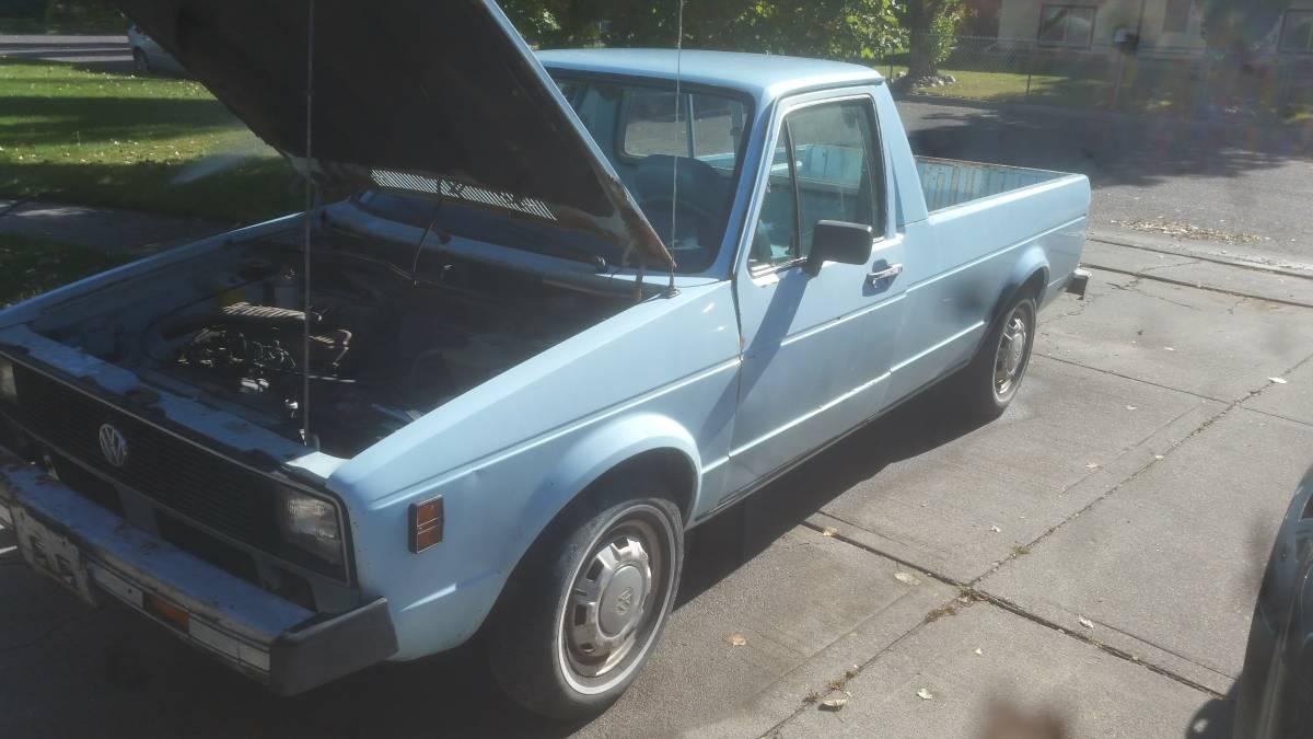 1980 Volkswagen Rabbit V4 Manual Pickup Truck For Sale ...