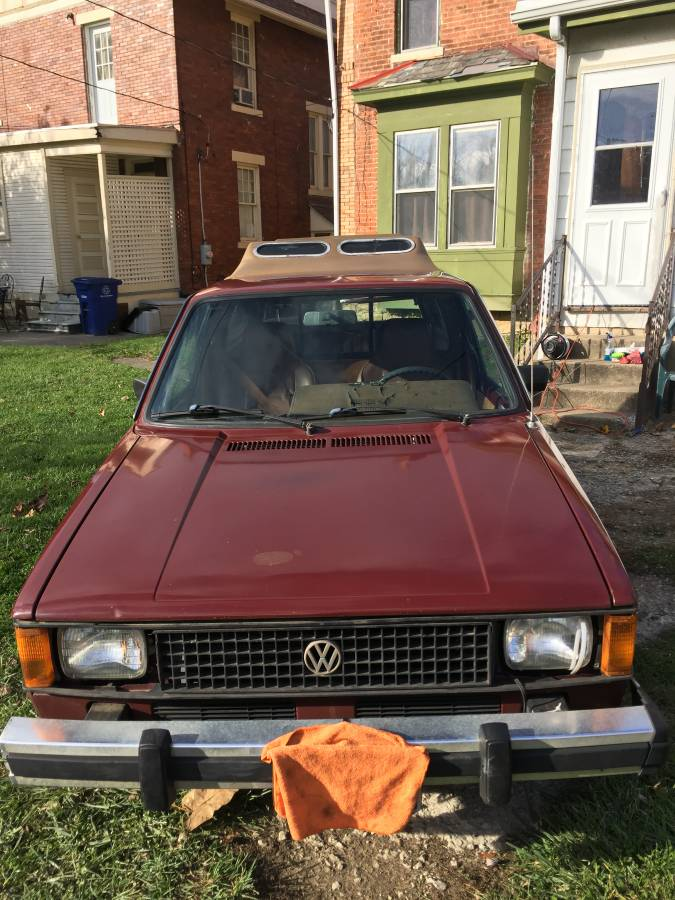 1982 Volkswagen Rabbit Caddy Pickup Truck For Sale In
