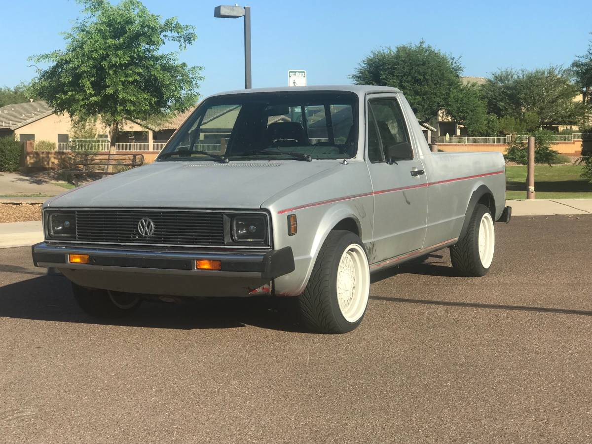 1989 VW Rabbit Caddy 4spd Pickup Truck For Sale in North ...