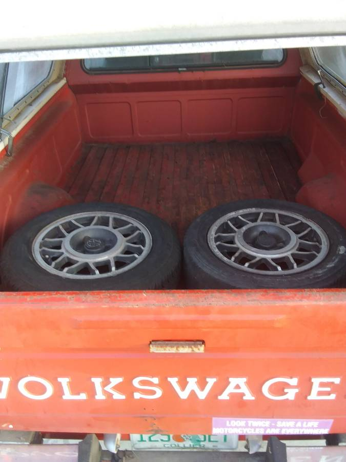 1982 VW MK1 Rabbit 5spd Manual Truck For Sale in Bonita ...