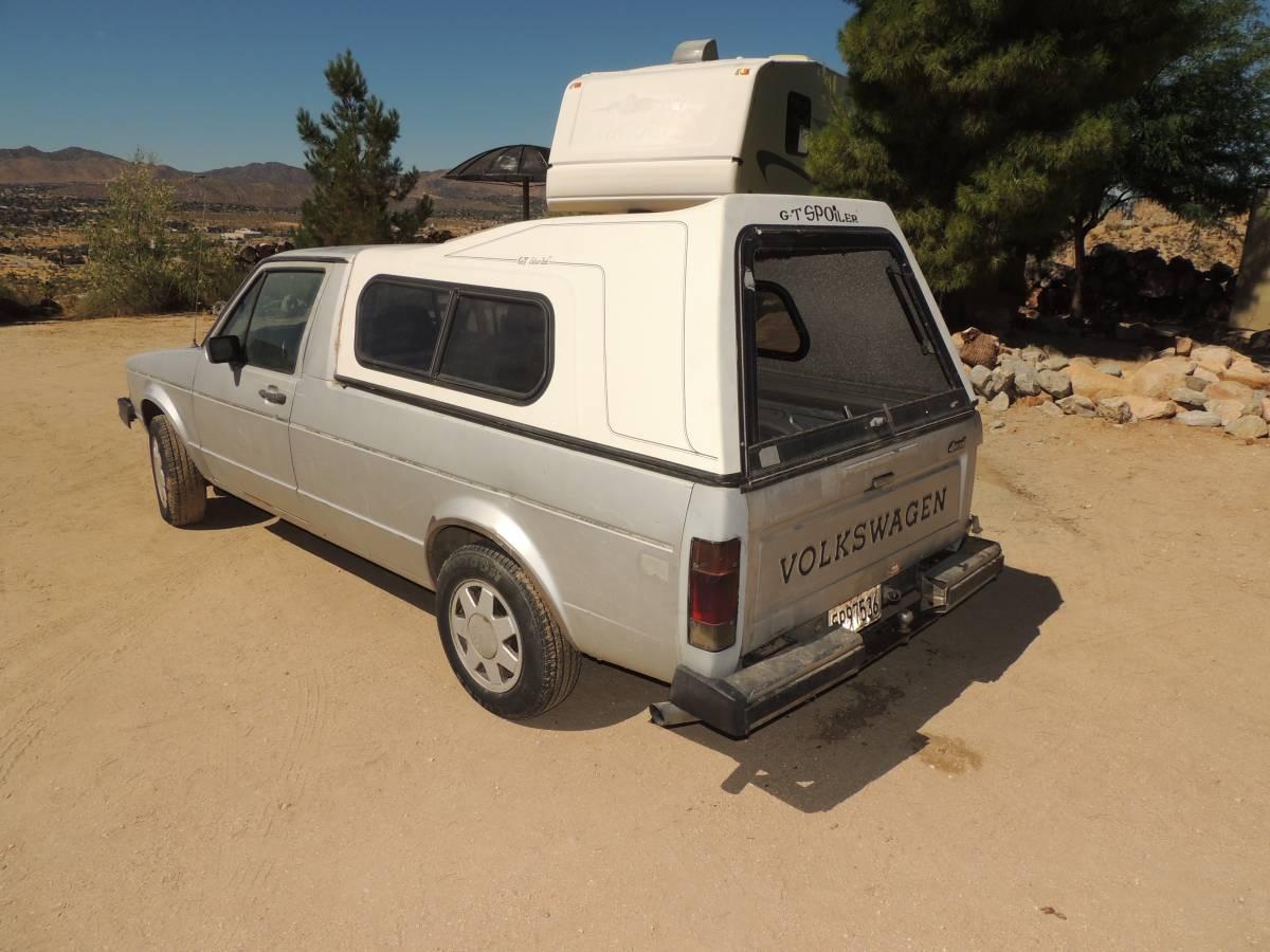1981 Volkswagen Rabbit Project Pickup Truck For Sale in ...