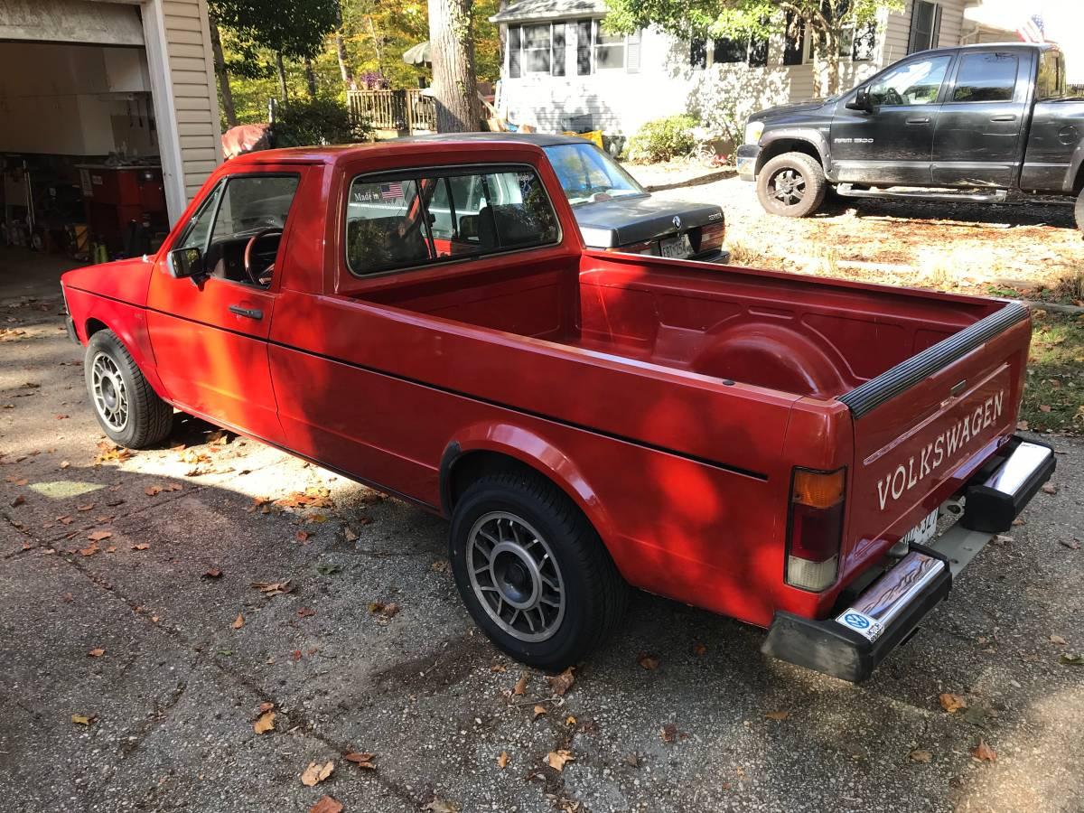 1981 Volkswagen Rabbit GTI 2.0L Pickup Truck For Sale in ...