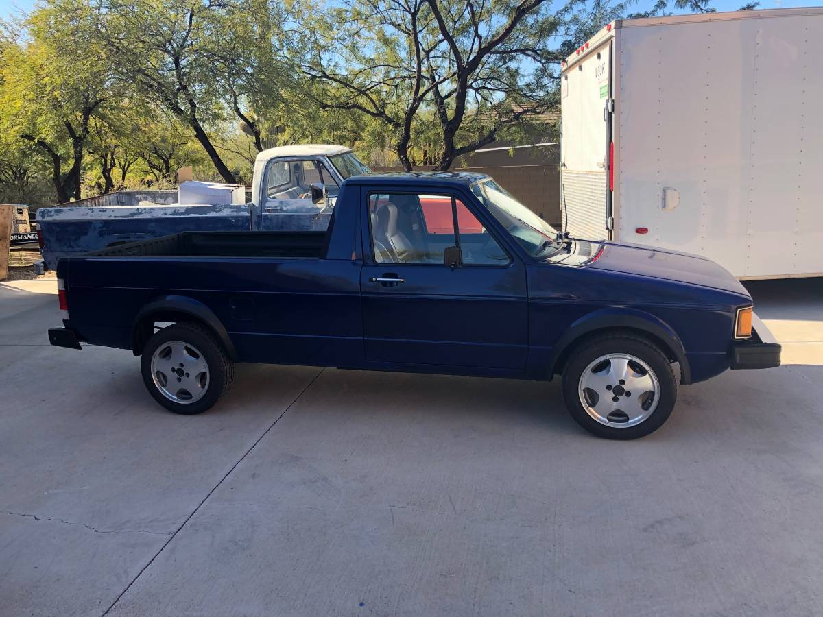 1981 VW Rabbit 4cyl Manual Pickup Truck For Sale in North ...