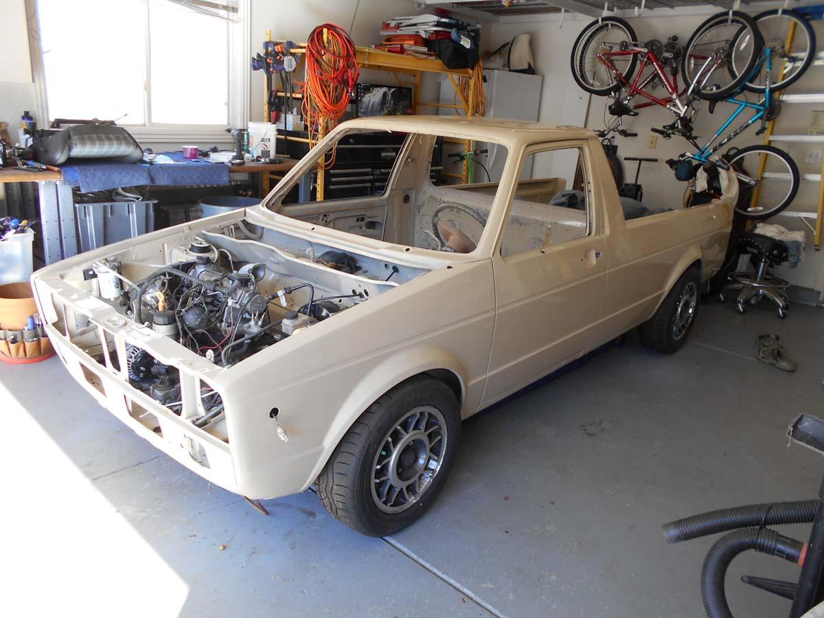 1980 Volkswagen Rabbit 1.9L 5spd Pickup Truck For Sale in ...