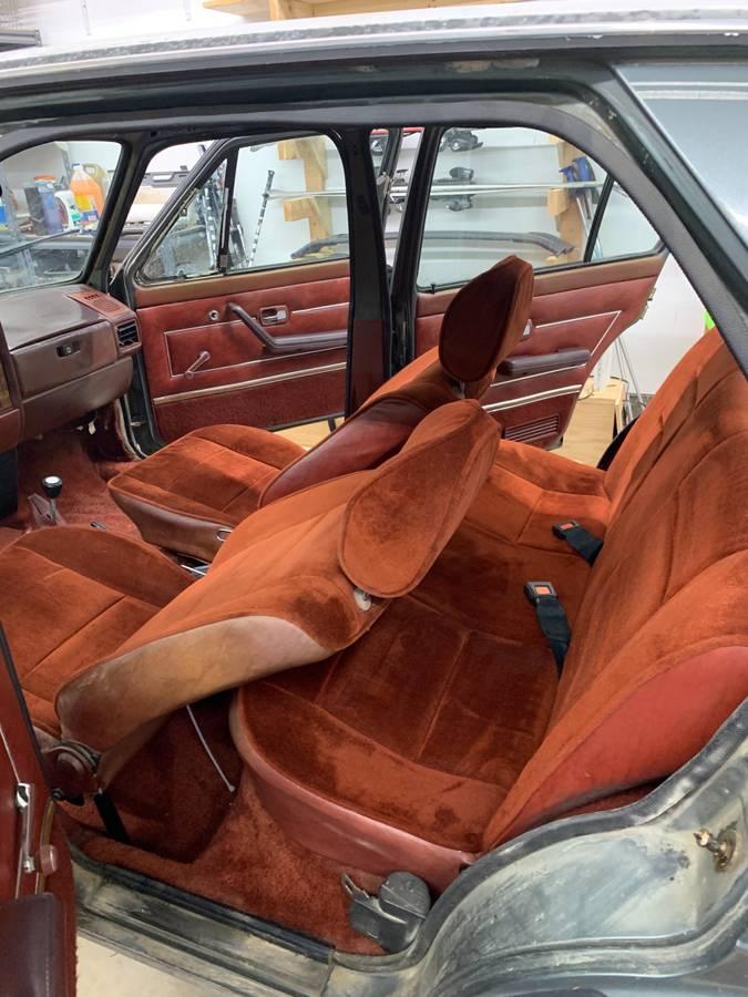 1981 Volkswagen Rabbit 1.6L Manual Pickup Truck For Sale ...